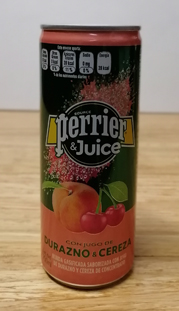 Perrier & Juice Durazno & Cereza 35 Pzas